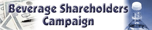 Beverage Shareholders Campaign
