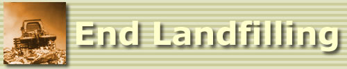 Banner: End Landfilling